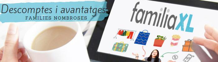 Logo Aconsegueix els millors descomptes per a famílies nombroses
