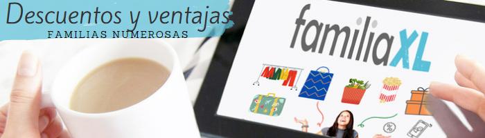 Logo Consigue los mejores descuentos para familias numerosas